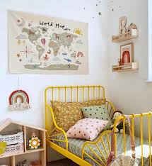Check out our minnen selection for the very best in unique or custom, handmade pieces from our baby blankets shops. Kid S Room With Yellow Minnen Bed Kids Interiors