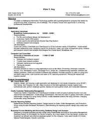 Sales Manager Profile Resume Resume For Study