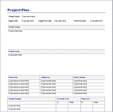 Sample Project Plan Outline Project Plan Template Sample Get Sniffer