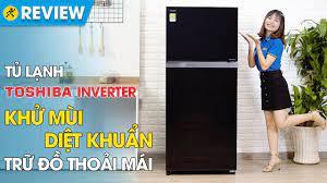 Tủ lạnh Toshiba Inverter 359 lít: tiết kiệm điện, làm lạnh kép (GR-AG41VPDZ  XK1) • Điện máy XANH - YouTube