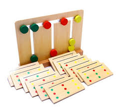 Game With Wooden Blocks New Wooden Blocks Toy Baby Toy Montessori Teaching Three Color 52