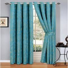 Teal Patterned Curtains Amazing Teal Patterned Curtains Wayfaircouk
