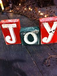 joy block sign stacking letters
