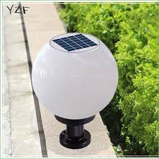 lighting solar powered outdoor lamp post lights solar fence post lights outdoor solar deck post