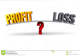 Proffit And Loss Profit Or Loss Stock Illustration Illustration Of Isolated 43084267