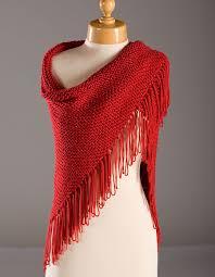 Shawl Patterns Beauteous Red Hat Lady Shawl Pattern Knitting Patterns And Crochet Patterns