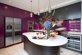View in gallery Blend regal purple with dark hues for a sophisticated look Kitchen  Cabinets: The 9 Most