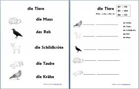 Free German Worksheets for Beginners - Homeschool Den