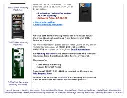 Fawn Vending Machines Inspiration Soft Drink Vending Machines