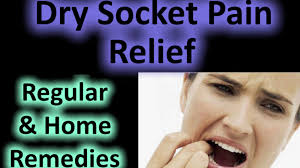 dry socket treatment home remedy relief of pain after tooth extraction wisdom teeth