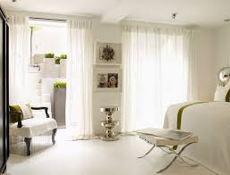 sheer white bedroom curtains. Glamorous Sheer White Curtain By Kelly Hoppen London Bedroom Curtains T