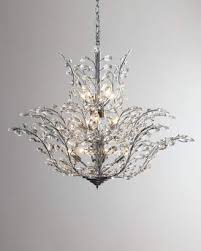 at horchow horchow upside down 18 light crystal chandelier