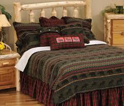 Log Cabin Bedroom Decor Rustic Cabin Bedding Decoration Rustic Cabin Furnishings Luxury