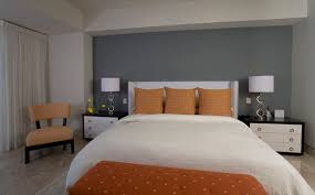 gray and orange bedroom. gray orange bedroom photo - 8 and 0