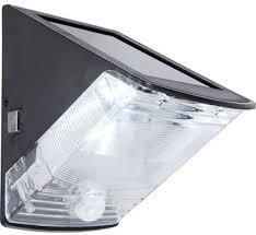 Solar Wandlamp Triangle Met Bewegingsmelder Buitenlamp Op Zonne Energie