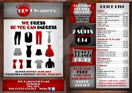 quality dry cleaners flyer commission by sarahnobbs design on quality dry cleaners flyer commission by sarahnobbs design