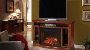 Contemporary Fireplace Tv Stand Brick Perfect Fireplace TV Console