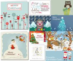 40 Free Printable Christmas Cards Hative