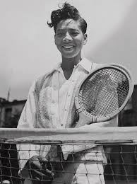 Althea Gibson — Unknown Glories