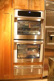wall oven with warming drawer