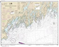 Gulf Of Maine Chart 13288 Monhegan Island To Cape Elizabeth Nautical Chart