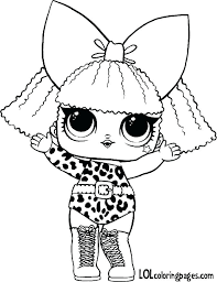 Doll Coloring Page Lol Pages Queen Bee Openonlineco