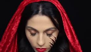 makeup little red riding hood teni panosian makeup makeup tutorial