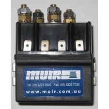 reversing solenoid dual 12 volt 2 pole or 4 pole 600 watt cima muir reversing solenoid dual 12 volt 2 pole or 4 pole 600 watt cima positive acting solenoid suits 12v vr600