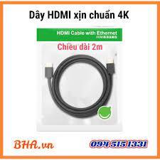 Cáp tín hiệu HDMI 2m xịn chuẩn 4K
