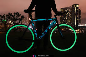 Sticker Light For Cycle The One And Only Rimskin Tron Bike Full With Glow In The