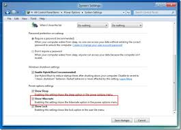 Now you will be able to Hibernate your computer from Windows 8 Power  options, which can be accessed from Charms Bar.