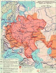 Гражданская война в России г  Начало иностранной военной интервенции и гражданской войны февраль 1918 г март 1919 г