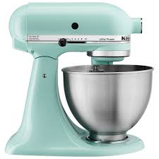 kitchenaid ultra power stand mixer 4 5qt 300 watt ice blue stand mixers best canada