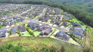 spectacular aerial tour of mililani mauka homes
