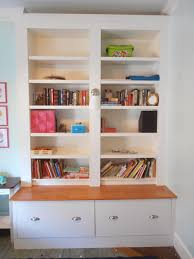bookcases with doors and drawers. Ikea Billy Bookcases, Fridge Cabinets With Drawers Instead Of Doors - Brilliant! Bookcases And
