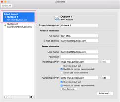 Outlook Mac Email Template Set An Account As The Default In Outlook For Mac Office