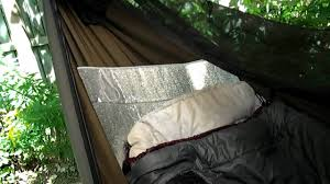 4 Clever Tricks To Stay Cozy While Hammock Camping Without An ... & Sun shade hammock insulation replacing an under quilt Adamdwight.com