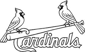 Small Picture Cardinals Coloring Pages Baseball Coloring Page Cartoon
