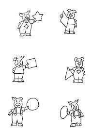 I Tre Porcellini Immagini Semplici Da Colorare Disegni Da Colorare
