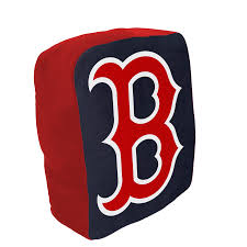 Cloud Pillow (Logo Shape)-Boston Red Sox-www.campstuff4less.com