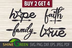 Download free svg cut files to create your diy projects using your cricut explore, silhouette and more. Christmas Bundle Hope Faith Family Love Graphic By Shinegreenart Creative Fabrica In 2020 Faith Hope Christmas Bundle Faith In Love