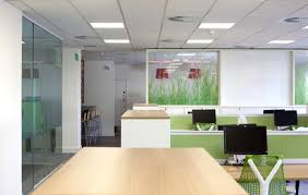 office colour design. CMIW Blog Colour Psychology Green Open Plan Office Design E