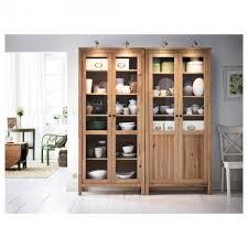 furniture hemnes glass door cabinet white stain ikea pertaining to