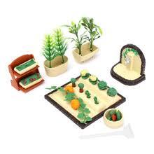 modern dollhouse furniture sets. modern plastic handmade miniature dollhouse furniture gardening vegetables outdoor accessory set diy ornaments dollhouse sets