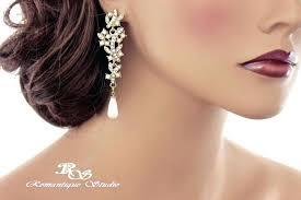 chandelier pearl earrings for wedding gold bridal earrings chandelier gold pearl and crystal earrings bridal chandelier chandelier pearl earrings