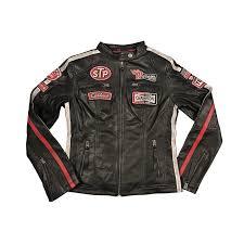 womens daytona black leather jacket