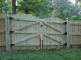 Double fence gate Build Interesting Design Wood Fence Double Gate Charleston Natural Wood Privacy Fence Bryant Fence Company Greenandcleanukcom Wood Fence Double Gate Wood Ideas