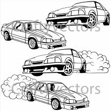 Tags mustang coupe vector file ford lightning drawing f clipart free download