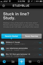 STUDY BLUE  App Available A Popular Study Tool Among The Make Flash Cards App