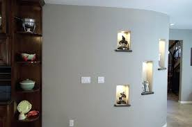 gallery decoration ideas picture 4 of lighted pictures wall decor best curved design kitchen designs attachment curved wall